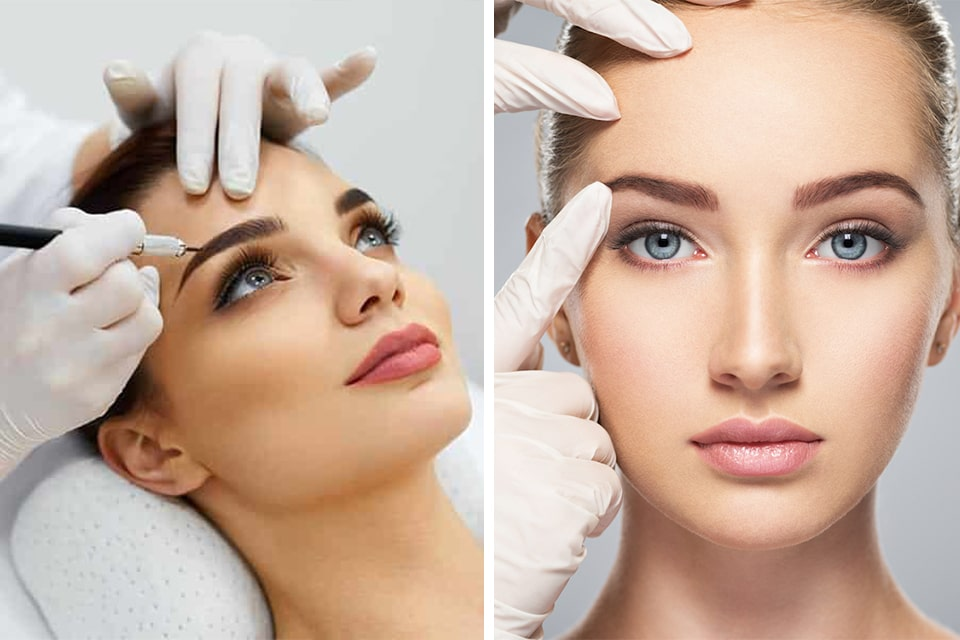 Semi-Permanent Eyebrow Makeup: Microblading vs Tattooing